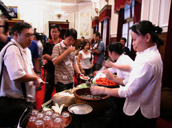 Catering in the Presidential Office