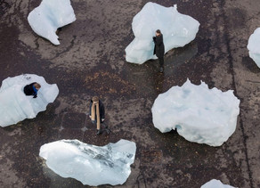 """Ice Watch"" at Tate Modern, London"