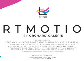 Press Release ARTMOTION by Orchard Galerie, June 27th 2019