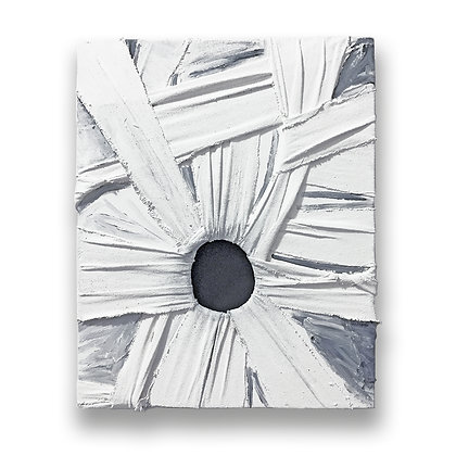 Alex Markwith, Surrounded Void (White / Grey)