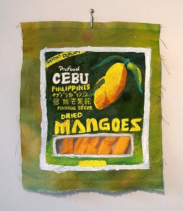 Jalandoni, Not Fruit Roll-Ups (Dried Cebu Mangoes)