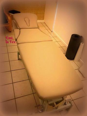 Table de massage - Emi, la Fée