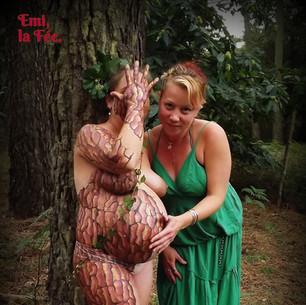 Emi, la Fée - Body-Painting, Belly-Paint