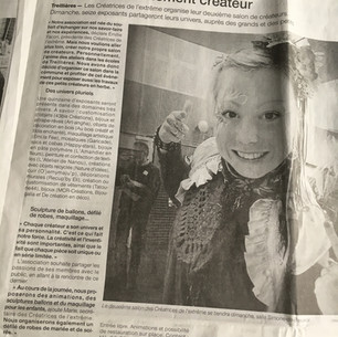 Article_Ouest_France_-_Salon_de_Créateur