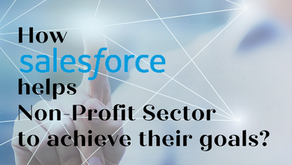 How Salesforce helps non-profit sector achieve their goals