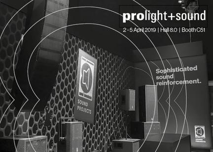 2019 Prolight + Sound, Musik messe in Frankfurt