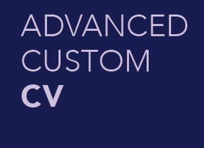 Advanced Custom CV