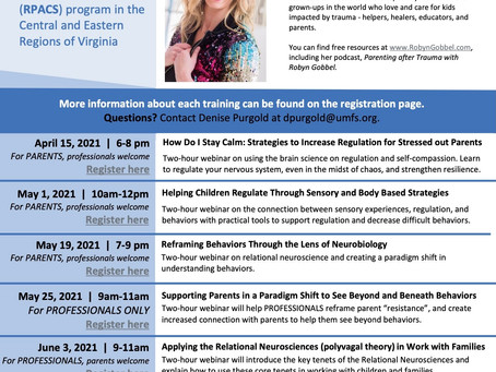 Can't Miss Training for Adoptive Parents!