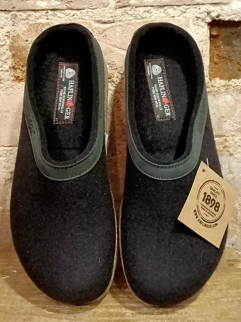 """Chaussons """"Grizzly Torben"""" noir"""