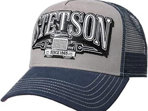 Casquette Stetson Trucker Trucking bleu