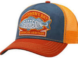 Casquette Stetson Trucker Fishermen's Bay Orange