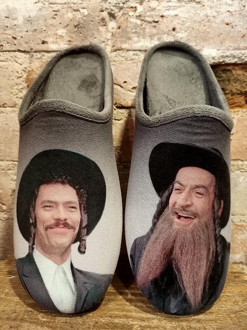 "Mule Chaussons ""Rabbi Jacob"""