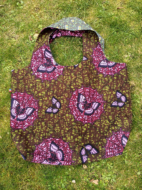Sac de course en wax made in Vincennes 6