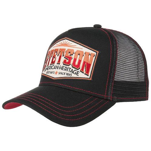 Casquette Stetson Trucker Heritage noir