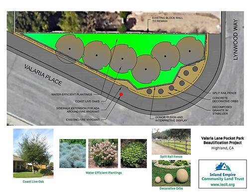 IECLT Valaria Lane Pocket Park Conceptua