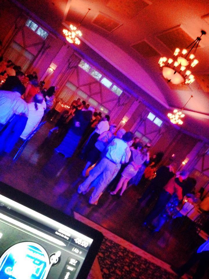 Slow jams on the dance floor