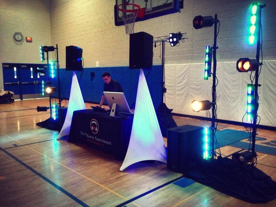Middle School Dance Setup