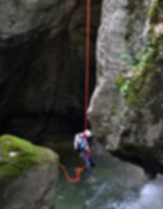 canyoning, escalade, via-ferrata, savoie, bourget du lac, chambéry
