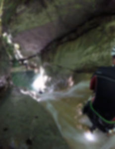 canyoning Ternèze Chambéry Aix les Bains