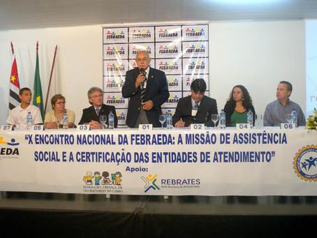 X ENCONTRO DE DIRIGENTES ADMINISTRATIVOS, COORDENADORES TÉCNICOS FEBRAEDA
