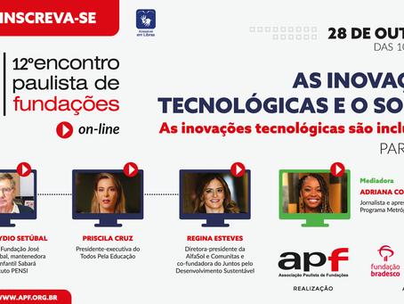 12º Encontro Paulista de Fundações recebe inscrições