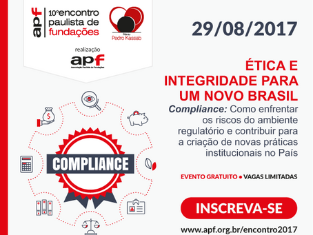 APF Promove 10º Encontro Paulista De Fundações E Entrega PPK/2017