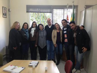 Febraeda Recebe Equipe Da ESAC Franca Para Intercâmbio De Práticas