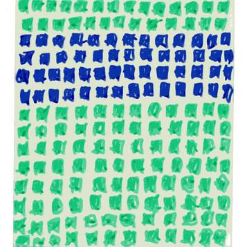 Green & Blue Grid