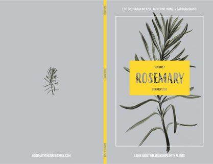Cover for Rosemary the Zine