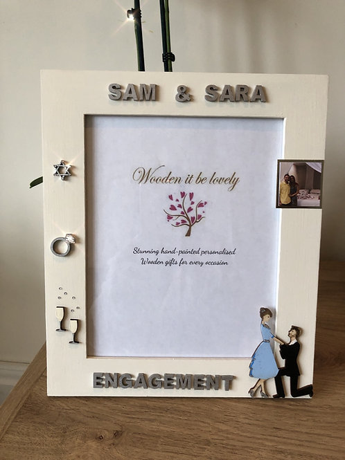 Engagement Photo Frame