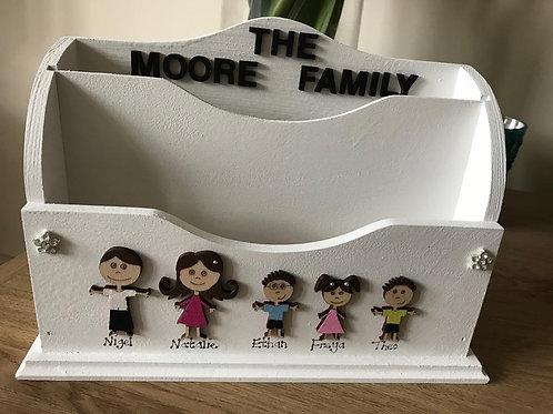 Personalised Family Letter/Napkin Holder