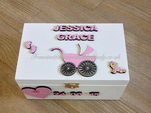 Small Baby Keepsake Box