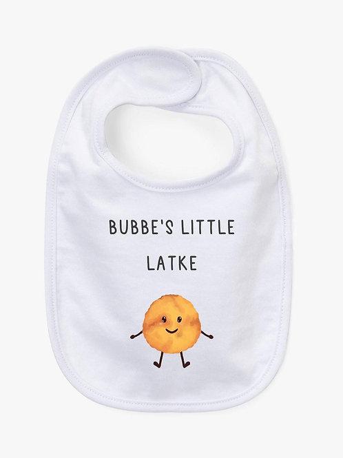 Chanukah baby bib