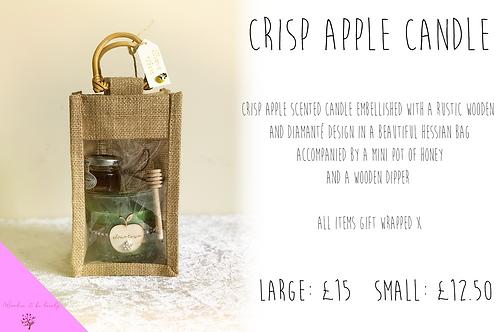 Crisp apple candle