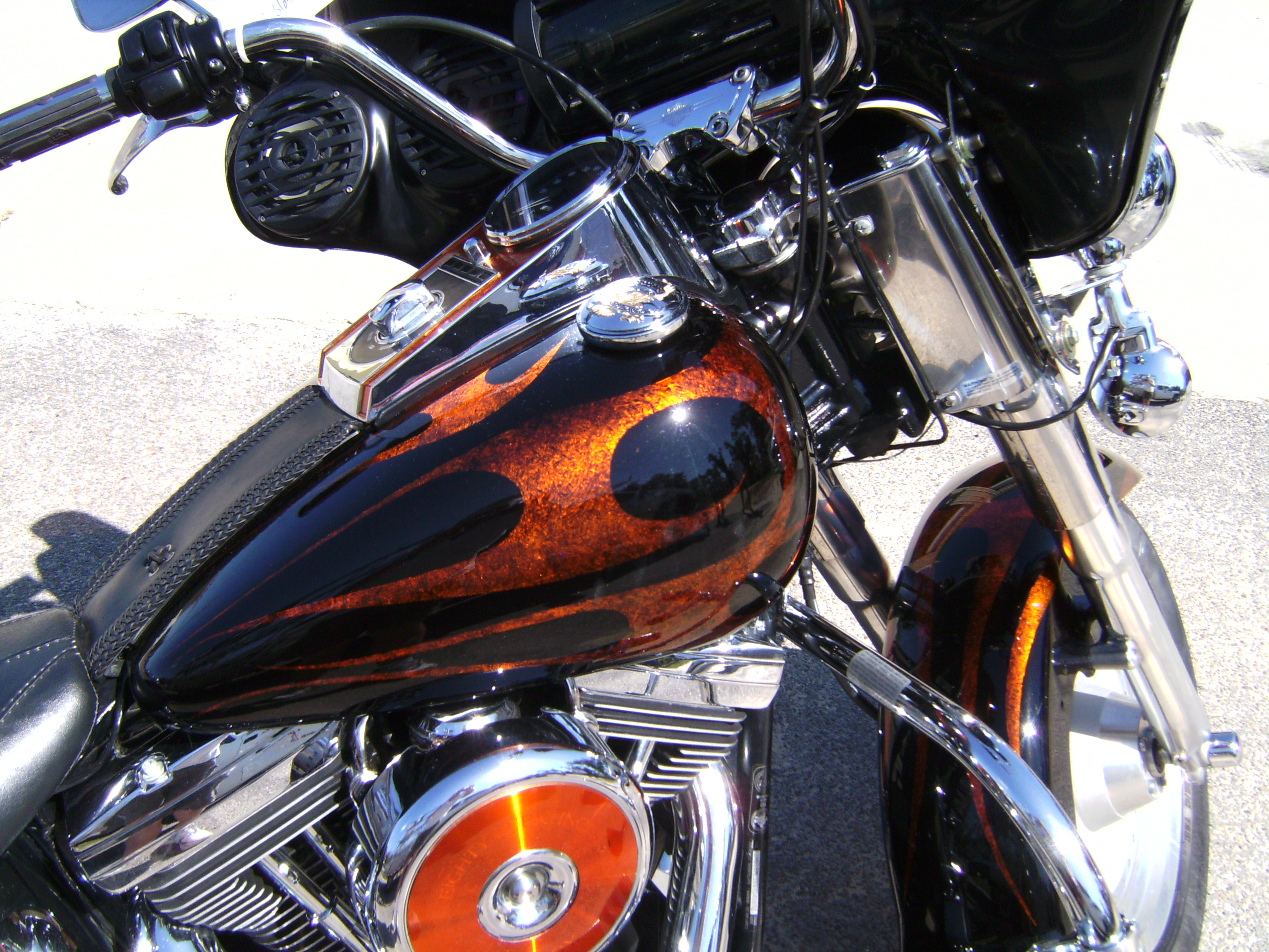 Harley Fat Boy Custom Paint 2