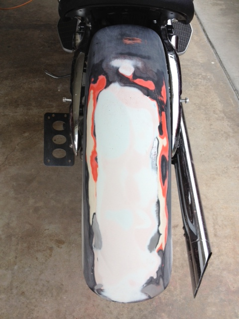 Honda Areo Shaved Fender