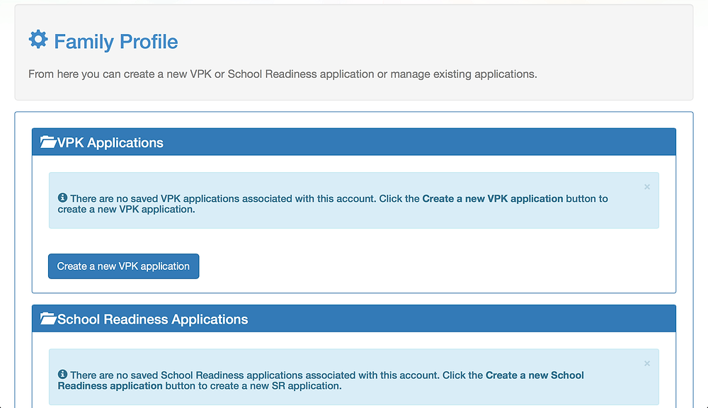 "Select ""Create a new VPK Application""."
