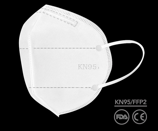 KN95 Dispoable Dust Mask (5 Pack)