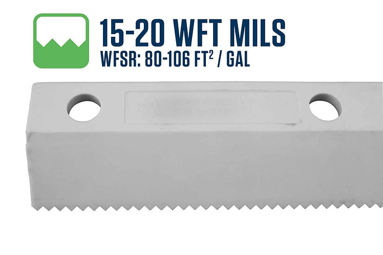 """18"""" Easy Squeegee 15-20 WFT Mils Blade"""