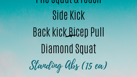 Keto- Vegan & Barre 4 your BELLY
