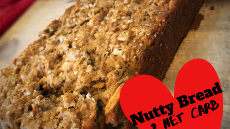 Nutty Seed Bread (Good Carbs and Delicious!)