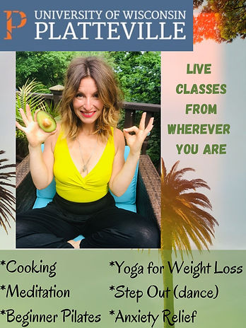 Join me for Enrichment and Fitness Class