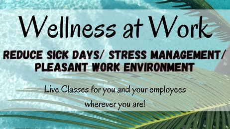 🧘‍♀️Wellness at WORK?👯‍♀️