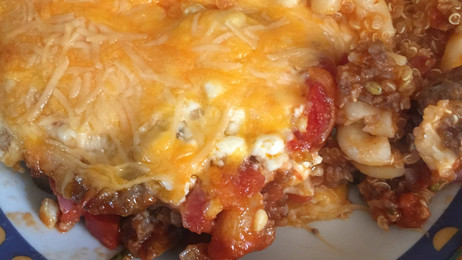 Protein Packed Pizza Casserole