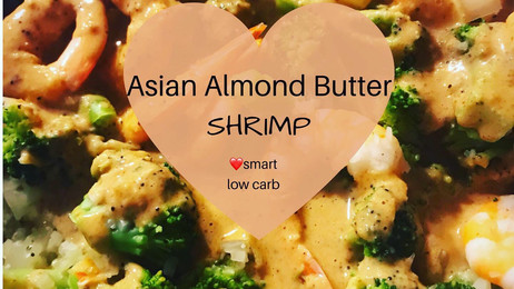 Almond Butter Shrimp