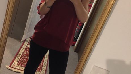 Tight shirt…….