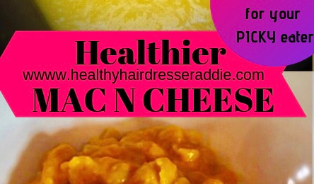Healthier MAC N CHEESE