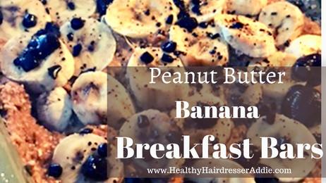 Peanut Butter Banana Breakfast Bars (super simple)