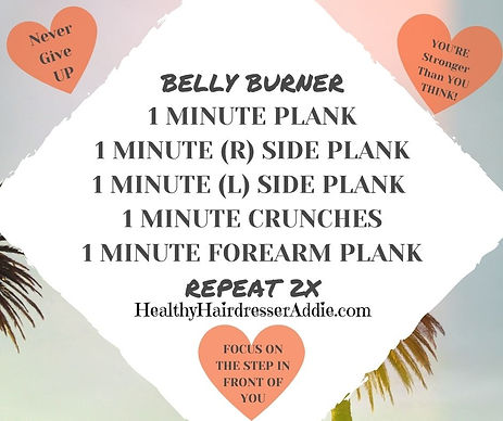 Belly Burner1 Minute Plank1 minute (R) S