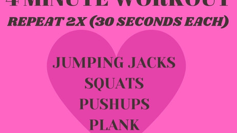 ❤️5 INGREDIENTS OR LESS RECIPES❤️4 Minute Workout❤️